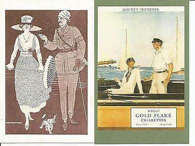 4 Advertising Postcards, Tobacco, Cigarettes, Wills's, Cavanders, Winston