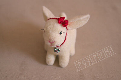 """Toy """"a hare""""  handmade."""