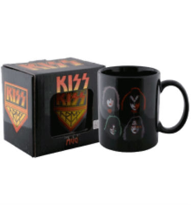 Official Kiss Army Faces Coffee Mug Brand New In Box!