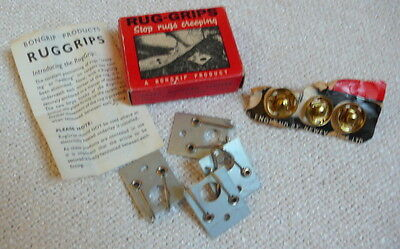 True vintage rug carpet mat grips in original box