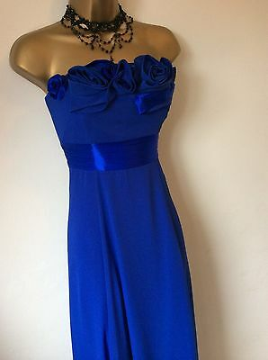 COAST full length royal blue dress size 10 vgc