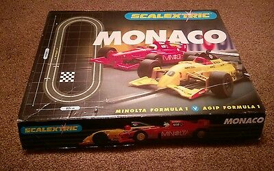 scalextric Monaco  with box and complete