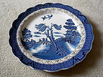Real Old Willow English Vintage Blue and White Plate by Booths