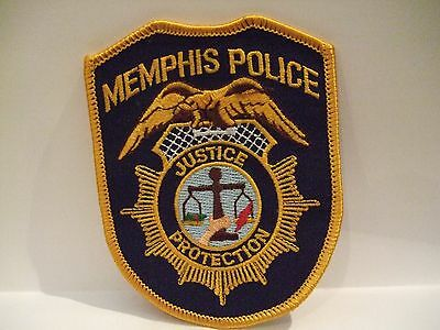 police patch  MEMPHIS POLICE TENNESSEE