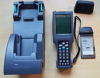 Casio Barcode Scanner 2D Imager Touchpanel Ladestation Nokia WLAN Karte Win CE
