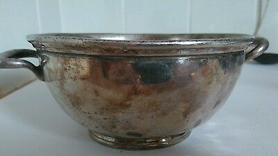 Early silver /plate Elkington and co bowl