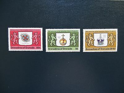 Grenadines of Grenada  1978  SG 272-274    Set  MNH