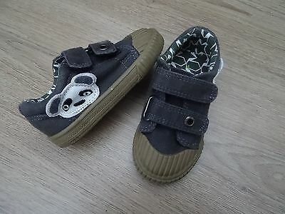 Boys Next Size 4 Panda Print Shoes Trainers Eur 21