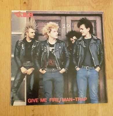 GBH Punk 7' Single. Give me Fire