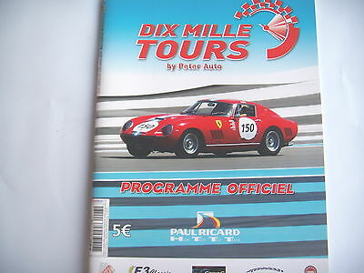 Dix Mille Tours 2010    Program