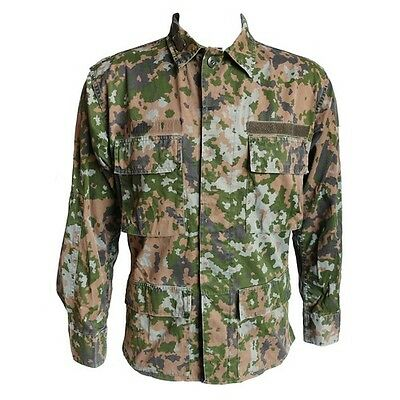 Small Luxembourg Army Camo Shirt