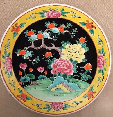 """Japanese Plate Signed. 11"""" Highly Decorative"""