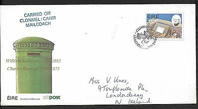1986        FDC   MULREADY  (Carried on MAILCOACH)           An Post