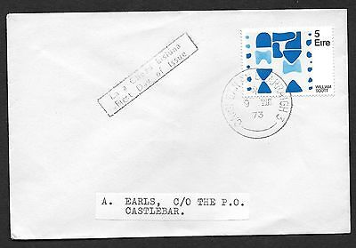 1973        FDC   IRISH ART   Wm Scott           Plain