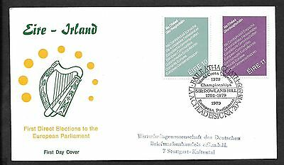 1979        FDC   EUROPEAN ELECTIONS           Illustrated
