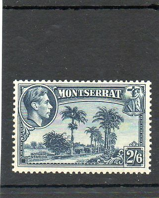 SG 109 MONTSERRAT 2/6d MINT CAT £47 (SCARCE PERF 13)-TWO SCANS