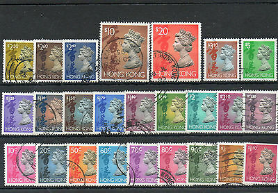 Hong Kong Between Sg 702 And Sg 716 (25) Used Cat £36 Approx