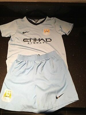Manchester City Football Kit Age 5-6