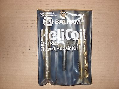napa balkamp helicoil 10x1.5 thread repair kit