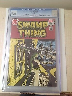 DC Swamp Thing # 7 First Batman CGC 9.6