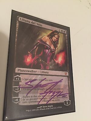Magic the Gathering MTG - Liliana of the Veil (Italian signed) NM x 1