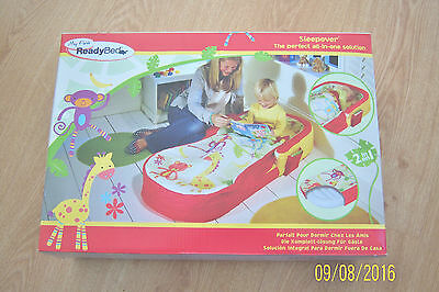 My First Ready Bed Toddler Sleepover All In One Includes Pump Travel Bag Bnwt