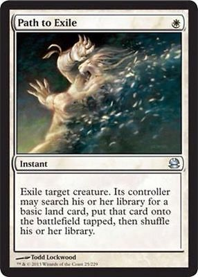 Magic the Gathering MTG - Path to Exile Modern Masters NM x 1