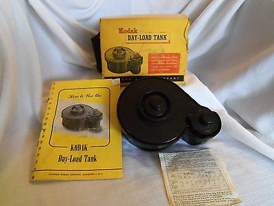 "Vintage Kodak ""Day-Load"" 35mm Film Processing Tank With Box"