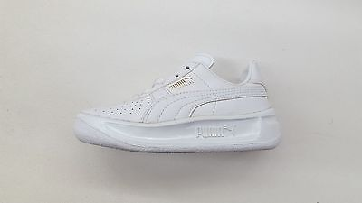 Puma Gv Special White Leather Gold Pre School Kids Sneakers 351721-01  344765-08 d2b4ae6bc
