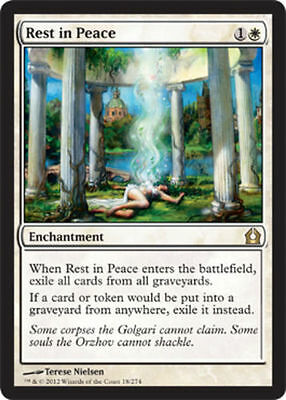 Magic the Gathering MTG -- Rest in Peace RTR NM x2