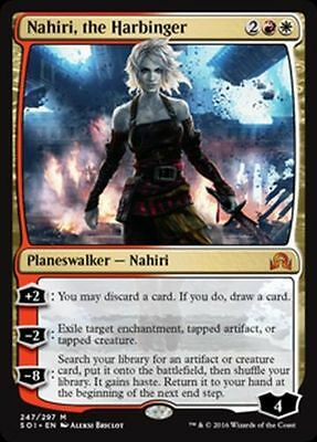 Magic the Gathering MTG -- Nahiri, the Harbinger Shadows over Innistrad NM x 4