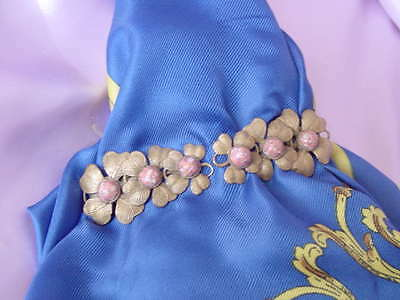 VINTAGE NATTY CREATIONS SCARF or DRESS PIN BROACH CLIP NR