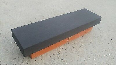 "Coping stones, (5.5"") 140mm x 500mm Flat top, various colours - delivery"