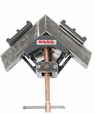 KAKAIND AC-60 Angle Clamp, 90 Degree Cast-Iron, Light Weight Angle Clamp Vice