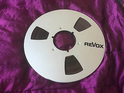 1 X 10.5 Metal Reel With Tape & Revox Logo