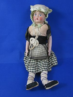 Vintage Colonial Doll with Paper Mache? Face