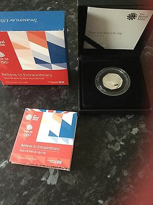 Team GB2016 united kingdom 50p silver proof coin
