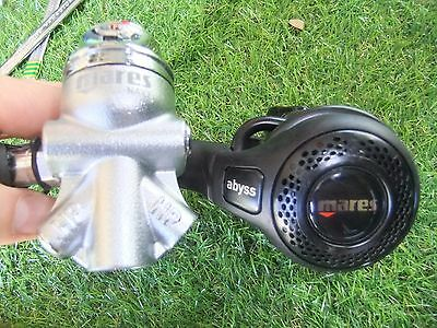 mares NAVY abyss mr22t cold kit 1st 2nd stage YOKE scuba dive diving regulator