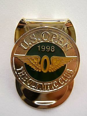 US OPEN 1998 Money Clip Olympic Club won by Lee Janzen