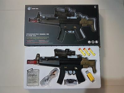 Toy Gun HK MP5 Plastic Battery Operated Gel Ball Shooting And Soft Dart