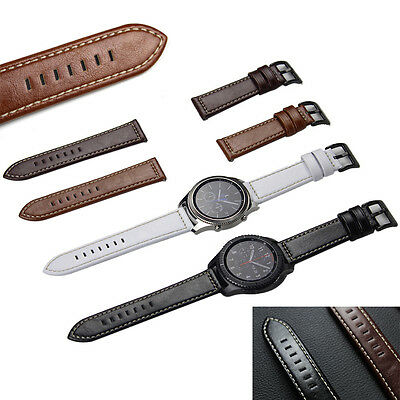Luxury Leather Watch Bracelet Strap Band For Samsung Gear S3 Frontier/Classic