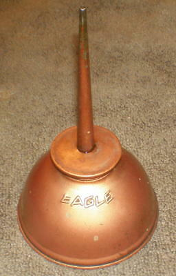 Vintage Eagle Oil Can ... Made in USA ... Works Fine