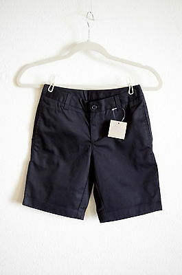 Land's End Kids Girl's Black Chino Shorts NWT size 10s