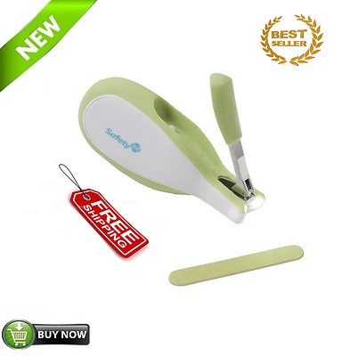 Baby Nail Clippers With Built-In LED Light For 100% Safety Free Shipping