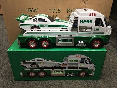 Brand new sealed in box 2016 HESS TOY TRUCK AND DRAGSTER Brand new