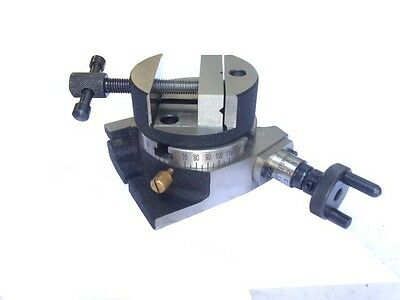 Rotary Table 75Mm With 75Mm Rotary Vice