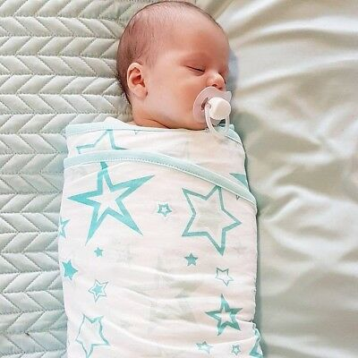 Miracle Blanket Baby Swaddle - World's leading Baby Wrap - Helps Colic!