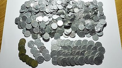 760 coins, East Germany, 1 Pfennig to 2 Mark, about 1950-1990, 87,00 Mark total