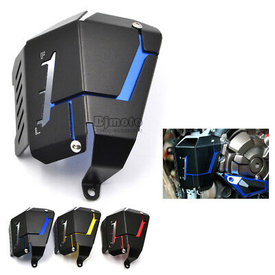 Radiator Water Coolant Reservoir Tank Guard Cover For 2013-2017 YAMAHA MT07 FZ07