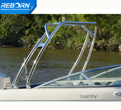 Promotion! Reborn Launch Forward-facing Wakeboard Tower Polished